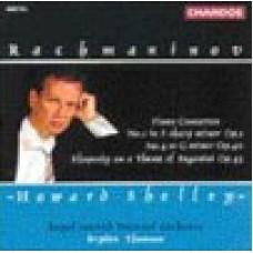 拉赫曼尼諾夫:第1、4號鋼琴協奏曲∕帕格尼尼主題狂想曲 Rachmaninov:Piano Concertos1&4,Paganini Rhanini Rhapsody-Shelley/Rsno/Thomson