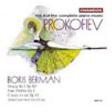 普羅高菲夫鋼琴曲全集,第八集 Prokofiev: Piano Music Vol.8 - Boris Berman