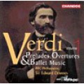 威爾第:序曲、前奏曲與芭蕾音樂Verdi: Preludes, Overtures & Ballet Music Vol. 1 - BBC Philharmonic . Sir Edward Downes