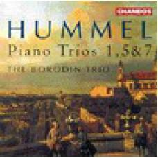 胡麥爾:第一.五.七號鋼琴三重奏 Hummel:Piano Trios Nos 1,5&7-The Borodin Trio