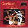 Roberto Gerhard 蓋哈德:Symphony No.4 <第4號交響曲>、Pandora Suite <潘朵拉組曲>