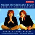莫札特/孟德爾頌/布魯赫:雙鋼琴協奏曲 Double Piano Concertos-Guher And Suher Pekinel/Peilharmonia/Marriner