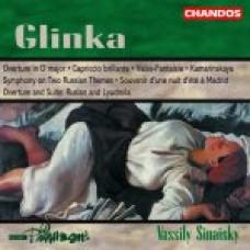 葛令卡:《D大調序曲》/《華麗隨想曲》/《幻想圓舞曲》/《卡瑪琳絲卡亞》/《根據兩個俄羅斯主題的交響曲》/《馬德里之夜的回憶》/《路斯蘭與魯密拉》序曲及組曲Glinka: Orchestral Works - BBC Philharmonic / Sinaisky