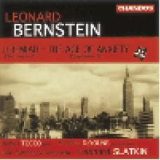伯恩斯坦:<耶利米>/<焦慮的年代>Bernstein: Symphoies Nos 1&2 etc/ BBCsymphony Orchestra/ Slatkin