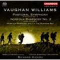 佛漢.威廉士:《田園交響曲(第3號交響曲)》/《第1號諾佛克狂想曲》/《第2號諾佛克狂想曲》/《奔跑舞曲》London Symphony Orchestra/Hickox
