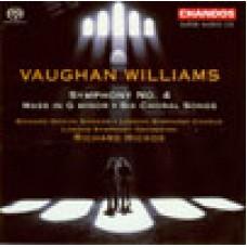 佛漢.威廉士:《第4號交響曲》/《G小調彌撒》/《6首合唱歌曲》Vaughan Williams:Symohony No.4 Etc