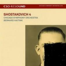 (CD+DVD)芝加哥交響樂團 / 海汀克指揮 / 蕭士塔柯維契:第四號交響曲(絕版) CSO / Bernard Haitink / Shostakovich: Symphony No. 4
