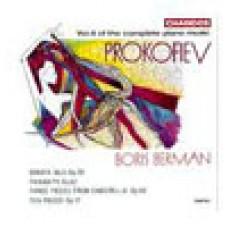 普羅高菲夫:鋼琴作品集(6) Prokofiev: Piano Music Vol. 6 - Boris Berman