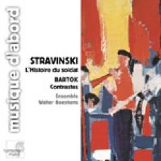 史特拉汶斯基:《士兵的故事》組曲∕三首單簧管樂曲;巴爾托克:《對比》;貝爾格:《慢板》STRAVINSKY. The Soldier's Tale