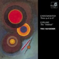 蕭士塔柯維契:《鋼琴三重奏》Op.8&67;柯普蘭:《鋼琴三重奏(維特布斯克)》SHOSTAKOVICH & COPLAND. Piano Trios