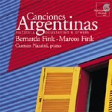 Canciones Argentinas / 阿根廷室內歌曲集:皮亞左拉、古斯塔維諾及其他作曲家作品