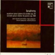 布拉姆斯:第一號鋼琴四重奏,作品25∕第三號小提琴奏鳴曲,作品108 Brahms:Quatuor Op.25