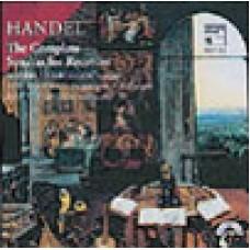 Handel: Recorder Sonatas-Verbruggen
