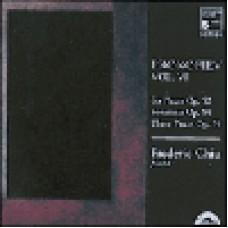 Prokofiev.6 Pieces Op.52,2 Sonatinas Op .54.Frederic Chic 普羅高菲夫:鋼琴作品集,第六集