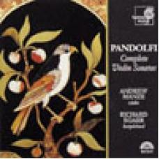 潘多爾菲:小提琴奏鳴曲全集 Pandolfi . Complete Violin Sonatas / Manze, Andrew violin