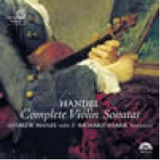 韓德爾:小提琴奏鳴曲全集 Handel.Complete Violin Sonatas.Manze/Egarr