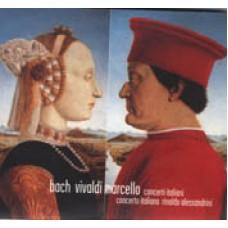 巴哈、韋瓦第 & 馬捷羅:義大利協奏曲集 Bach、Vivaldi & Marcello:Concerto Italiano (R. Alessandrini)
