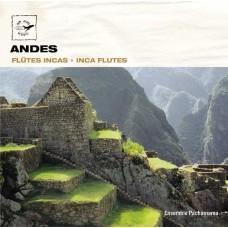 ANDES:Inca flutes  /  安地斯山脈:印加笛子