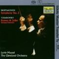 蕭士塔高維契:第5號交響曲, 柴可夫斯基:羅密歐與茱麗葉 Shostakovich:Symphony No.5, Tchaikovsky:Romeo & Juliet Fantasy Overture