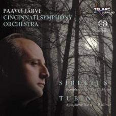 西貝流士:《D大調第2號交響曲》/杜賓:《B小調第5號交響曲》 帕沃.賈維 指揮 辛辛那提交響樂團 Sibelius: Symphony No.2 . Tubin: Symphony No.5 / Jarvi / Cincinnati Symphony Orchestra