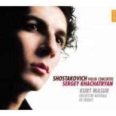 蕭士塔柯維契:兩首小提琴協奏曲 (哈察特楊 Sergey Khachatryan ,violin)